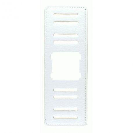 Bracelet large - Blanc Structure