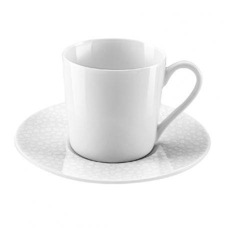 Baghera blanc Médard de Noblat Coffret 6 tasses à café