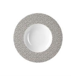 Baghera platine Médard de Noblat assiettes creuses à risotto