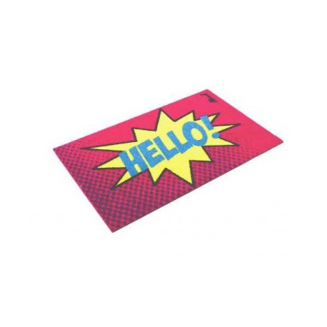 Tapis Prosper Mad about Mats, toucher grattant 50x75, antidérapant
