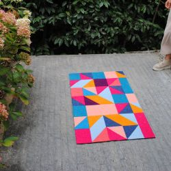 Tapis Palmer Mad about Mats, toucher grattant 67x110 antidérapant