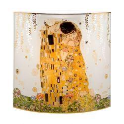 Le Baiser Lampe Klimt en verre décoré par Artis Orbis