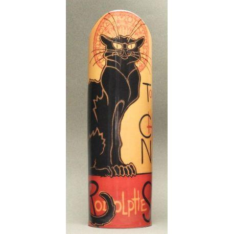 Le Chat noir de Steinlen - Vase céramique 24 cm - Parastone