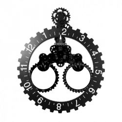 Big Wheel - Horloge murale engrenage 55 cm - Invotis