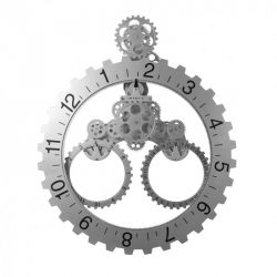 Big Wheel - Horloge murale engrenage 55 cm - Invotis