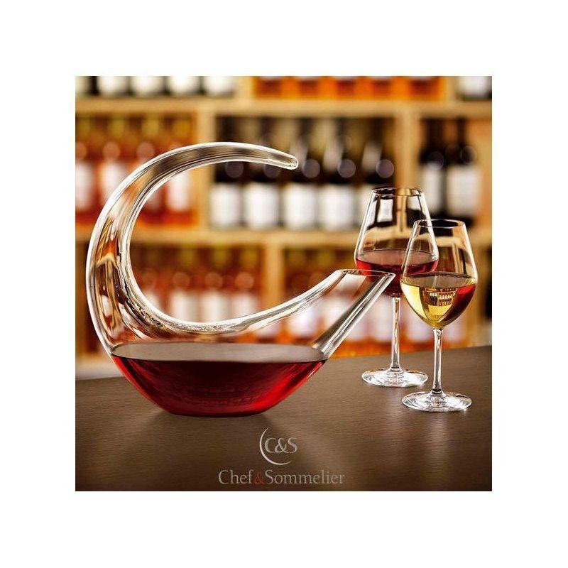 5611437d87b01a Grand Final - Carafe à décanter le vin design - Chef   Sommelier