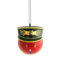 Faberjori Alessi, boule de Noël Generale Corallo, en porcelaine
