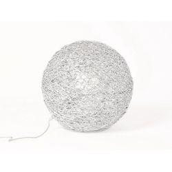 Mirage Drimmer Lampe boule à poser chrome 40 cm
