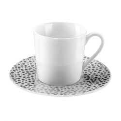 Baghera platine Médard de Noblat Coffret 6 tasses à café