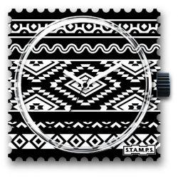 Stamps Cadran de montre Ikat