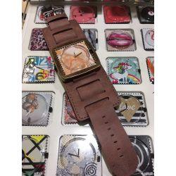 Stamps - Bracelet large - Taupe