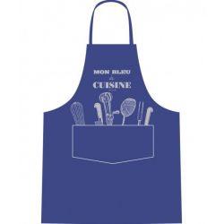 Mon bleu de cuisine - Tablier de cuisine 100% coton - Alma Mater