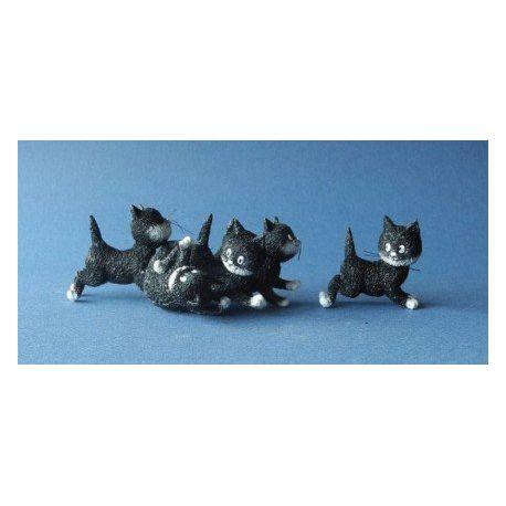 Chat Dubout - Suivez-moi, figurine en résine 12,5 cm - Parastone