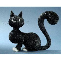 Chat Dubout La belle, figurine 10 cm résine Parastone