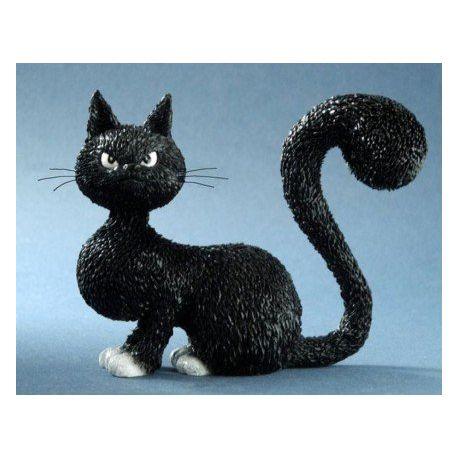 Chat Dubout La belle, figurine 10 cm résine