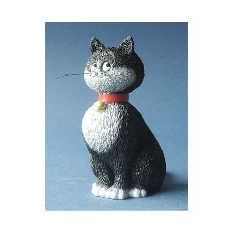 Chat Dubout - Grande espérance, figurine en résine