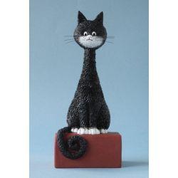 Chat Dubout - Kikou, figurine en résine 18 cm - Parastone