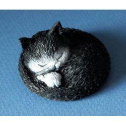 Chat Dubout - Siesta, figurine en résine 4 cm - Parastone