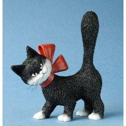 Chat Dubout La minette noire, figurine 11 cm résine Parastone