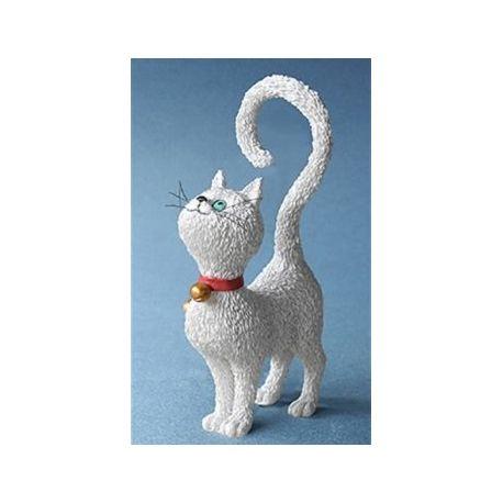 Chat Dubout - Qu est-ce qu on mange blanc, figurine 11 cm