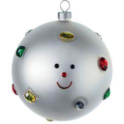 Fioccodineve boule de Noël Alessi en verre soufflé