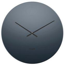 Mirage, horloge murale en miroir teinté noir 40 cm, Karlsson