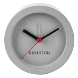 Tom Concrete, Réveil rond en béton, diamètre 9,5 cm, Karlsson