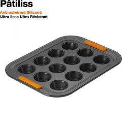Moule à 12 mini-muffins Patiliss Le Creuset anti-adhérent 24 cm