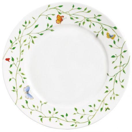 Histoire Naturelle - Raynaud - Assiette dîner 27 cm porcelaine