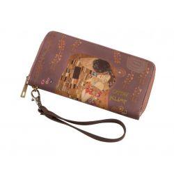 Portefeuille Artistes Le Baiser Gustav Klimt Artis Orbis