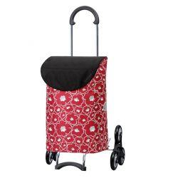 Scala Shopper Lilo rouge, Chariot de courses 6 roues, Andersen