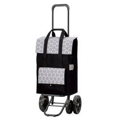 Quattro Shopper Vara Blanc, Chariot de courses 4 roues, Andersen