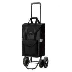 Quattro Shopper Senta noir, Chariot de courses 4 roues, Andersen