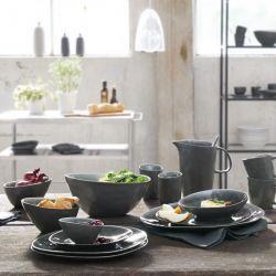 A la maison Oyster Asa 6 assiettes plates, dessert ou creuses