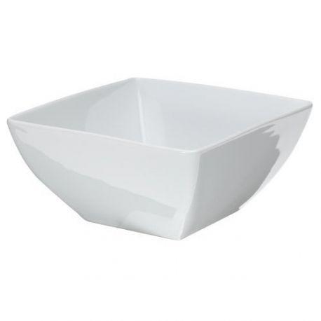 Loft Saladier carré 21 x 21 cm en porcelaine