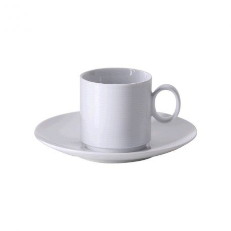 Loft Thomas Tasse à café 20 cl avec sous tasse porcelaine