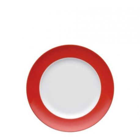 Sunny Day Assiette Aile rouge Porcelaine