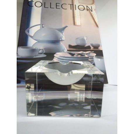 Blockglass Rosenthal Studio Line Cendrier en cristal