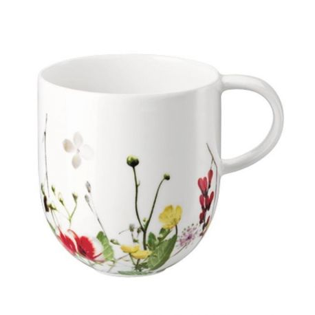 Brillance Fleurs sauvages Mug Porcelaine Bone China