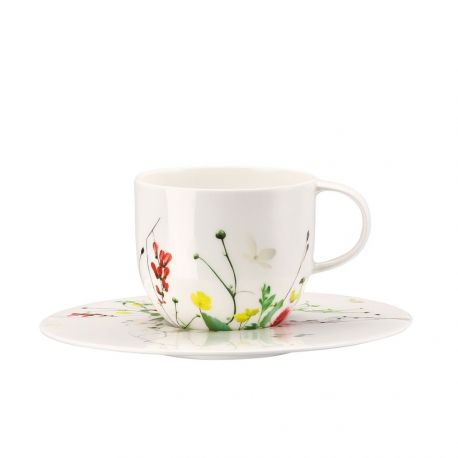 Brillance Fleurs sauvages Tasse Porcelaine Bone China