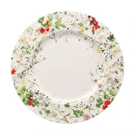ROSENTHAL - Fleurs sauvages Assiette Porcelaine Bone China