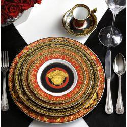 Rosenthal Versace Medusa rouge - assiette porcelaine 22, 27 cm