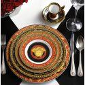 ROSENTHAL Versace Medusa Assiette porcelaine rouge 22 cm, 27 cm