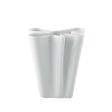 Vase Flux Rosenthal porcelaine blanche 14, 20 ou 26 cm