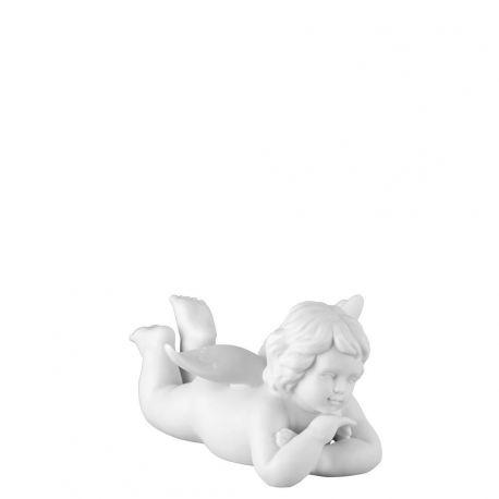 Petit ange couché Porcelaine blanche