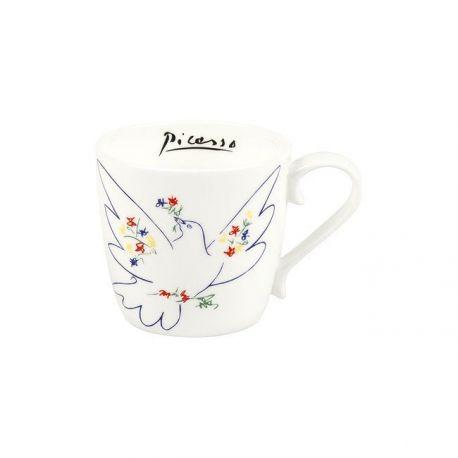 La colombe du festival de Picasso, mug en porcelaine Könitz