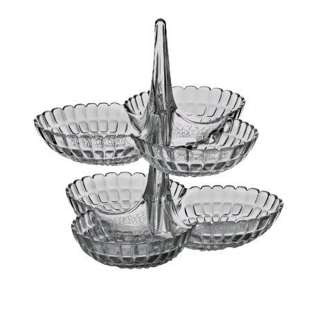 Tiffany Set apéritif à étage en acrylique, 4 coloris