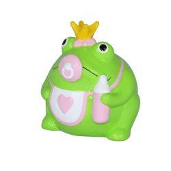 Frogmania Baby Girl Freddy Pomme Pidou,tirelire grenouille