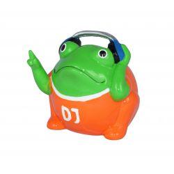 Frogmania DJ Freddy Pomme Pidou,tirelire grenouille