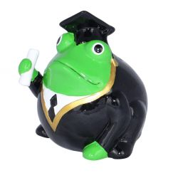Frogmania Etudiant Freddy Pomme Pidou,tirelire grenouille